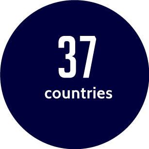 37 countries